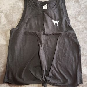 Victoria secret sleeveless shirt